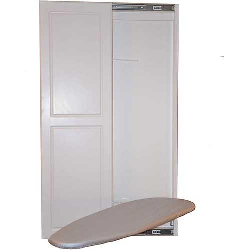 4. Slide-Away Ironing Boards Double Panel Door