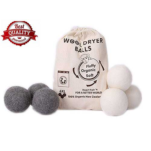 9. Wool Dryer Balls by MarvelousRule