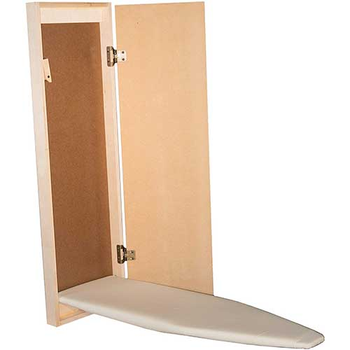 10. Built-in Ironing Board / Wall Mounted or Recessed / Hide Away