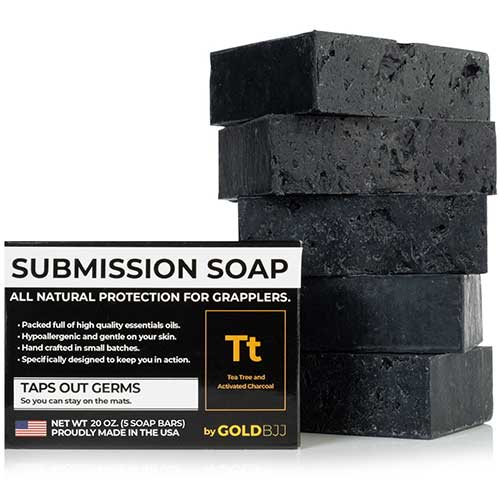 5. Premium Tea Tree Oil Soap - With Activated Charcoal! 100% All Natural USA Made Bars
