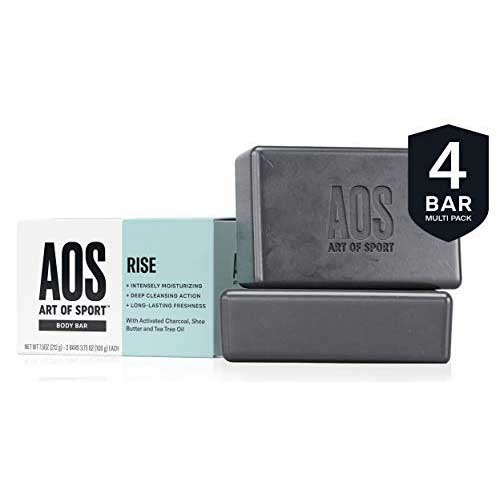 4. Art of Sport Body Bar Soap (4-Pack), Rise Scent