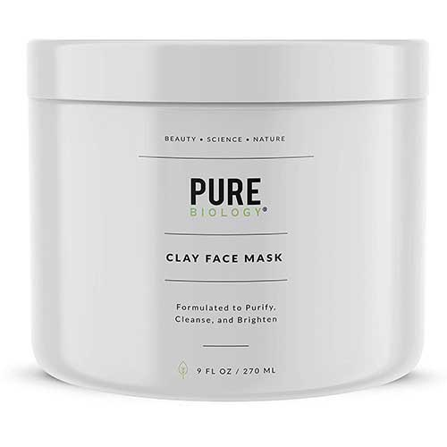 4. Premium Face Mask – Bentonite Clay, Retinol, Collagen Peptides, Kaolin, Vitamins B, C, E – Cleanse, Smooth