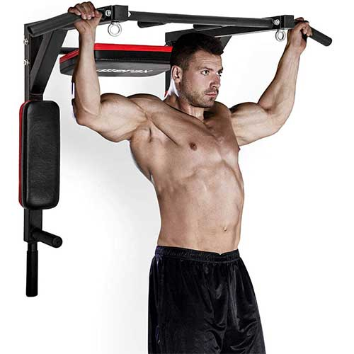 3. Merax Wall Mounted Pull-Up Bar