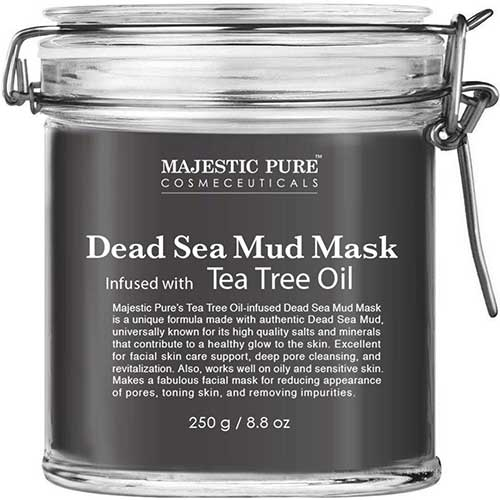 2. MAJESTIC PURE Dead Sea Mud Mask Infused