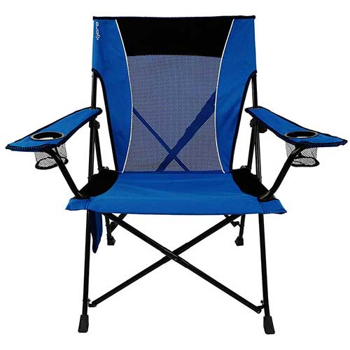 2. Kijaro Dual Lock Portable Camping and Sports Chair