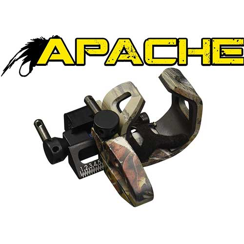 9. NAP Apache Drop-Away Rest Right Hand Camo 360 Degree Sound Dampening
