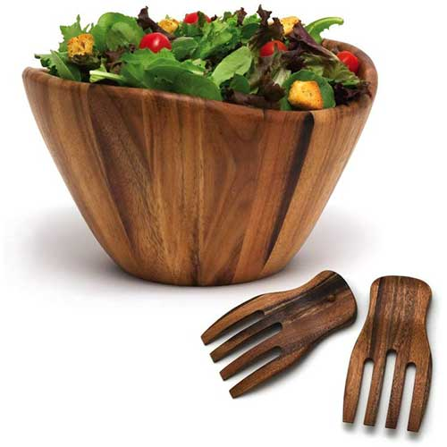 Top 10 Best Wooden Salad Bowls in 2020 Reviews