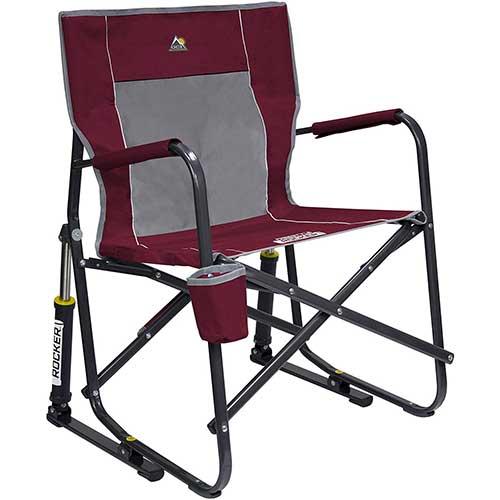 8. GCI Outdoor Freestyle Rocker Portable Folding Rocking Chair