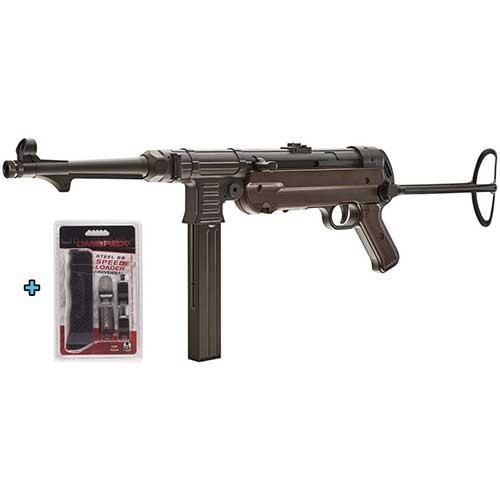 8. Umarex Legends, CO2 Full, Metal MP40 GEN-3, Semi/Full-Auto, Air gun Speed Loader Universal