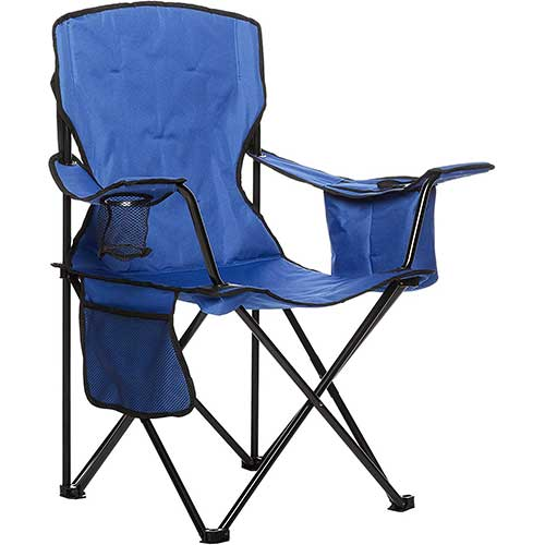 3. AmazonBasics Camping Chair