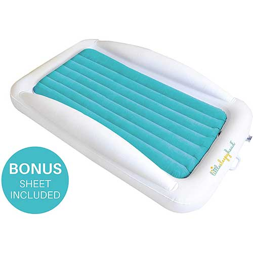 6. Little Sleepy Head Toddler Inflatable Bed, Perfect Kids Travel Bed