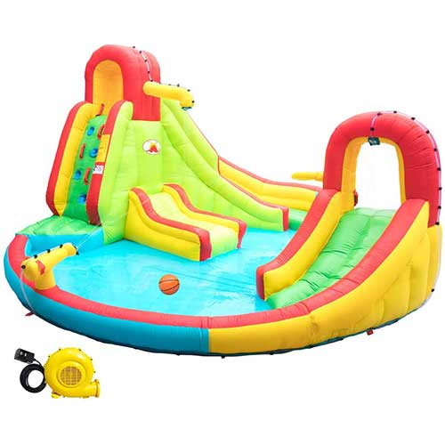 Top 10 Best Inflatable Water Slide for Adults in 2021 Reviews