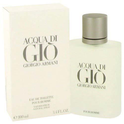 8. ACQUA DI GIO by Giorgio Armani Men's Eau De Toilette Spray
