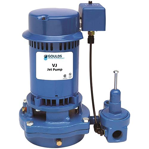 10. Goulds VJ10 Vertical Deep Water Well Jet Pump