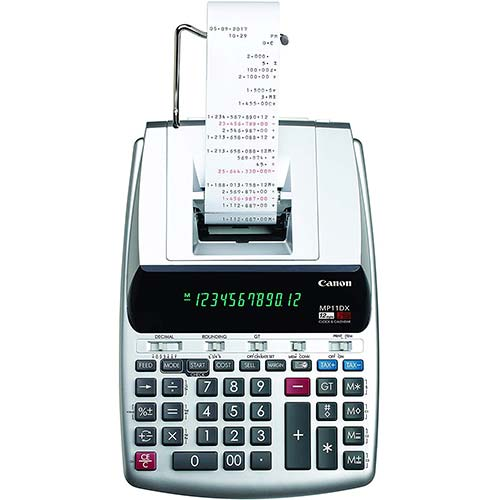 3. Canon Office Products 2198C001 Canon MP11DX-2 Desktop Printing Calculator