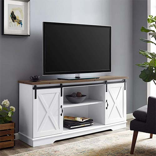 10. WE Furniture TV Stand, 58