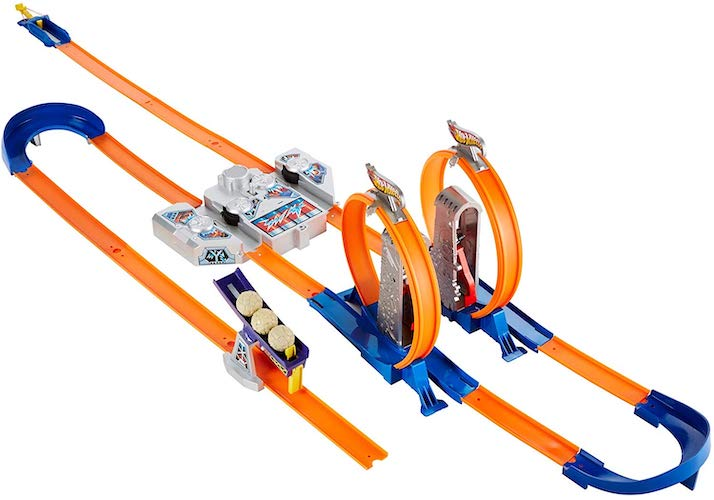 6. Hot Wheels Track Builder Total Turbo Takeover Track Set
