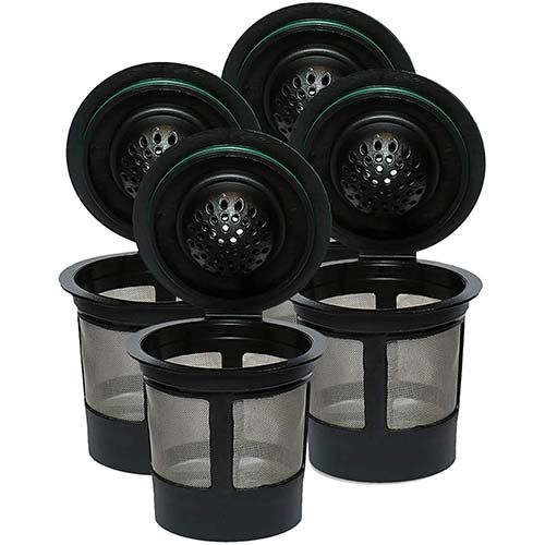1. Reusable K Cups For Keurig 2.0 & 1.0 Brewers