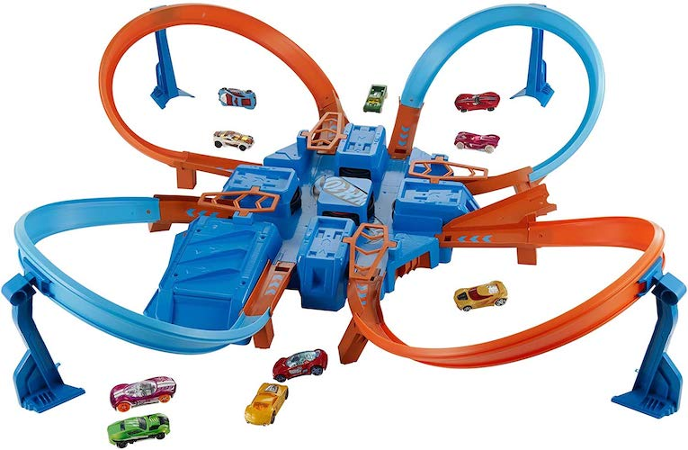 5. Hot Wheels Criss Cross Crash Track Set [Amazon Exclusive]