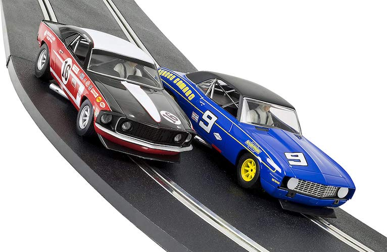 2. Scalextric ARC One American Classics 1:32 Slot Car Race Track Playset
