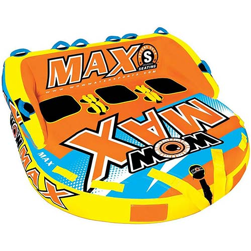 3. WOW Max 3 Person Towable World of Sports Water Fun