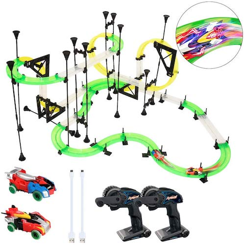 9. LEDshope RC Car Race Track Set