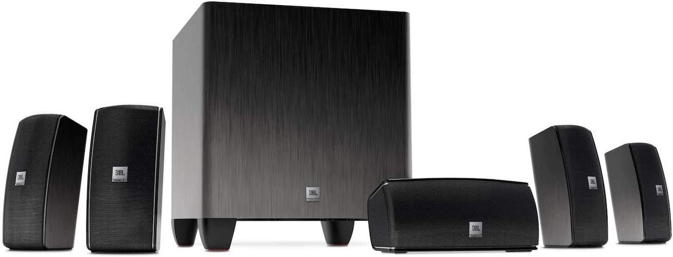 3. JBL Cinema 610 Advanced 5.1 Home Theater Speaker System