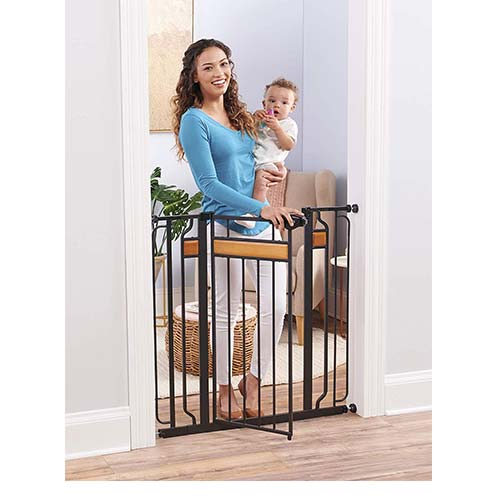 8. Regalo Home Accents Extra Tall and Wide Baby Gate