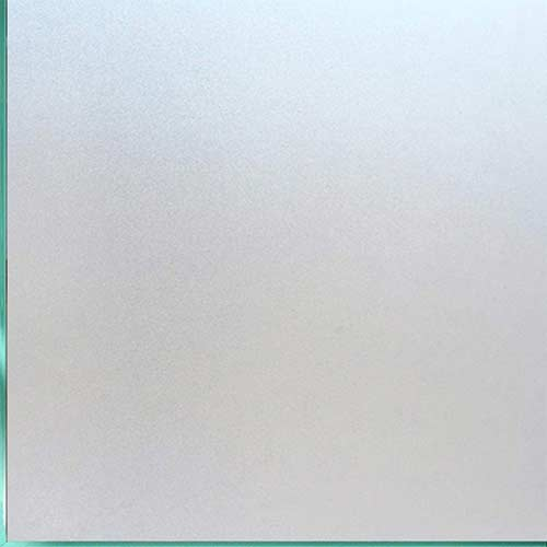 2. Coavas Window Film Non Adhesive Frosted Home Office Film Privacy Window Sticker Self Static Cling Vinyl Glass Film