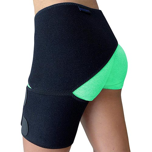 9. Groin Support – Hip Brace for Sciatica Pain Relief, Thigh, Hamstring, Quadriceps, Hip Arthritis.