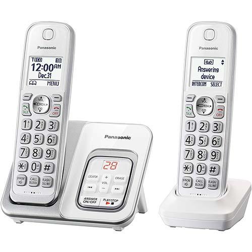 2. Panasonic DECT 6.0 Expandable Cordless Phone