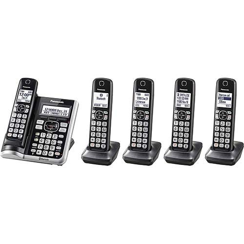 1. PANASONIC Link2Cell Bluetooth Cordless Phone System