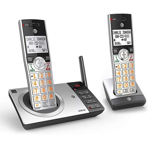 5. AT&T DECT 6.0 Expandable Cordless Phone
