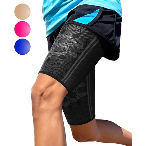 3. Sparthos Thigh Compression Sleeves (Pair)