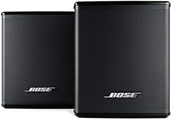 8. Bose Surround Speakers, Black