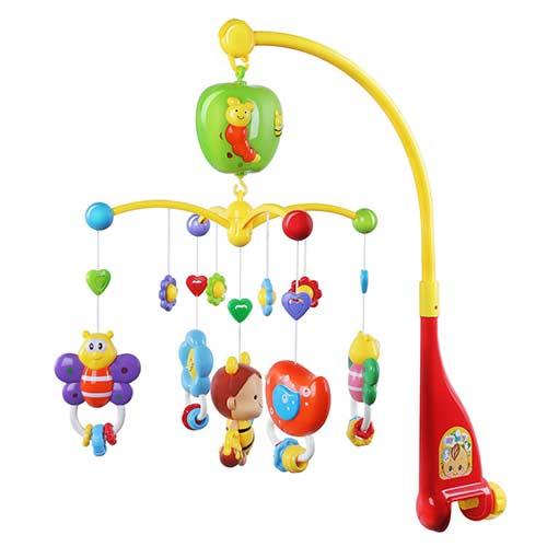 7. GrowthPic Musical Mobile Baby Crib Mobile
