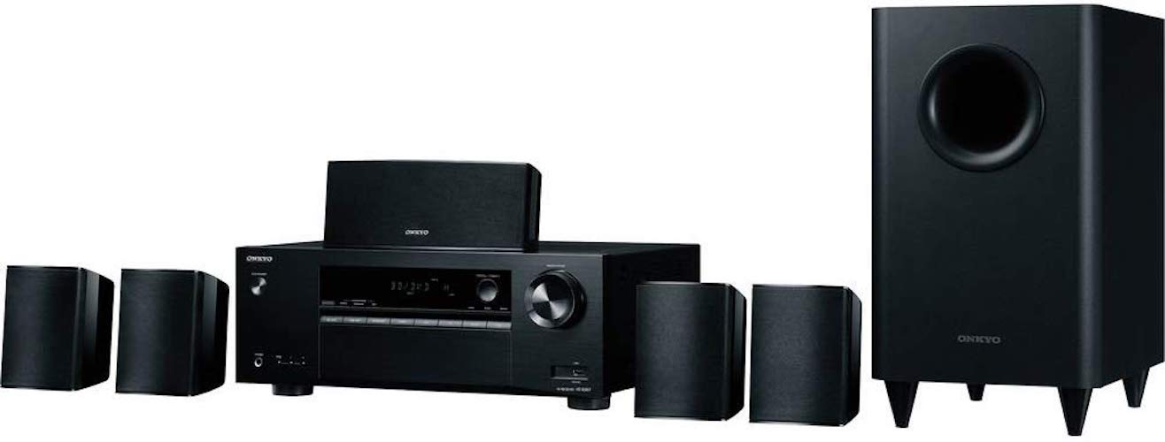 2. Onkyo HT-S3900 5.1-Channel Home Theater Receiver/Speaker Package