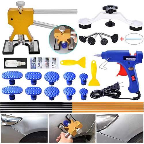 3. ARISD Auto Paintless Dent Repair Kits - Golden Car Dent Puller