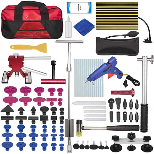 9. Yoursme Car Dent Repair Removal Tools Auto Paintless Dent Puller Kit