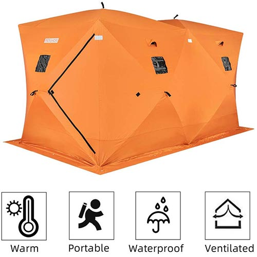 Top 10 Best Portable Ice Houses in 2021 Reviews