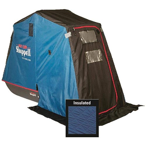 4. Shappell FX100i Insulated 1-Man Flip Ice Fishing Shelter