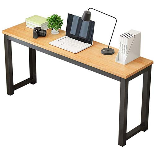 10. Simple Laptop Table Computer Desk, Chebo Modern Writing Study Table Home Office Desk