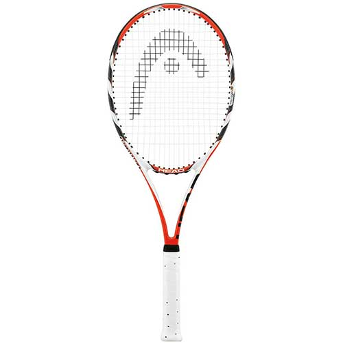 1. HEAD MicroGel Radical Tennis Racquet