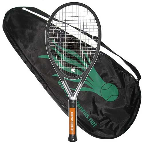 6. HEAD Ti.S6 STRUNG with COVER Tennis Racquet