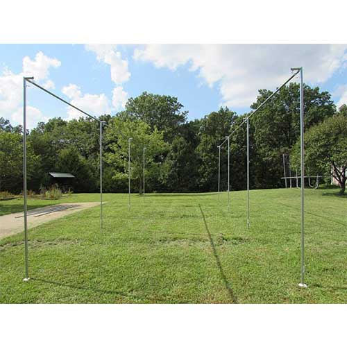1. Batting Cage Frame Kit EZ UP & Down Baseball Softball Frame Kit