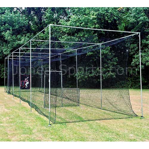 7. Jones-Sports Heavy Duty 10 x 12 x 30 #42( 60 Ply) Batting Cage Net