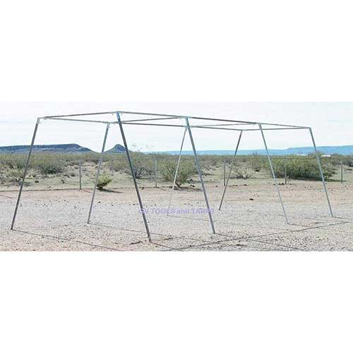 9. Golden Valley Tools & Tarps 30' Baseball/Softball Slant Leg Trapezoid Batting CAGE