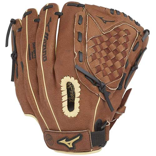2. Mizuno Prospect PowerClose Youth Baseball Glove Series
