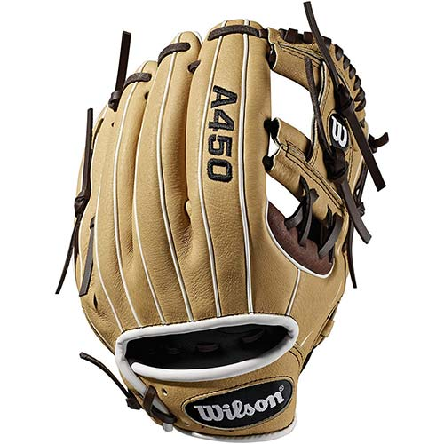 6. Wilson A450 Baseball Glove Series