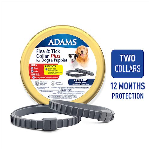 6. Adams Flea & Tick 2PK Collar